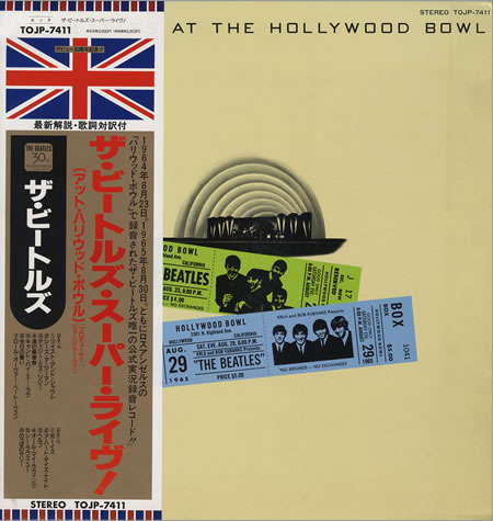 THE BEATLES AT THE HOLLYWOOD BOWL(TOJP-7411).jpg